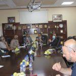 : رئيس الاتحاد الفلسطيني للهيئات المحلية يزور بلدية قلقيلية