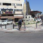 : الأعمال مستمرة في ميدان الشهيد ابو علي اياد.