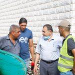: رئيس البلدية يتفقد مشروع شارع جلجولية.