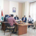 رئيس بلدية قلقيلية يلتقي وزير الحكم المحلي