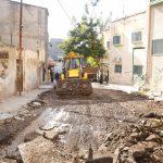 بلدية قلقيلية تواصل اعمالها بمشاريع تأهيل وتعبيد طرق داخلية.