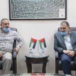 لقاء رئيس البلدية مع مدير الاستخبارات
