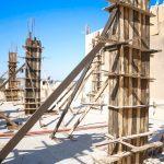 استمرار اعمال مشروع بناء طابق ثاني عظم في مدرسة العودة.