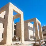 اعمال بناء مدرسة صبحة الحرازين.