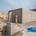 استمرار اعمال بناء طابق ثاني في مدرسة العودة