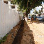 مواصلة اعمال مشروع إعادة تأهيل وتعبيد طرق داخلية في مدينة قلقيلية