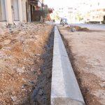 بناء وتجهيز ارصفة – شارع الواد