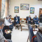 رئيس بلدية قلقيلية يهنئ مدير التربية والتعليم بمنصبه الجديد