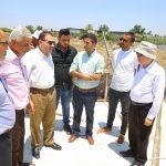 رئيس بلدية قلقيلية رئيس المجلس المشترك د. هاشم المصري يتفقد محطة ترحيل النفايات الصلبة
