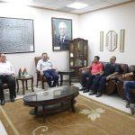 رئيس البلدية يلتقي وفد من مكتب بريد محافظة قلقيلية.