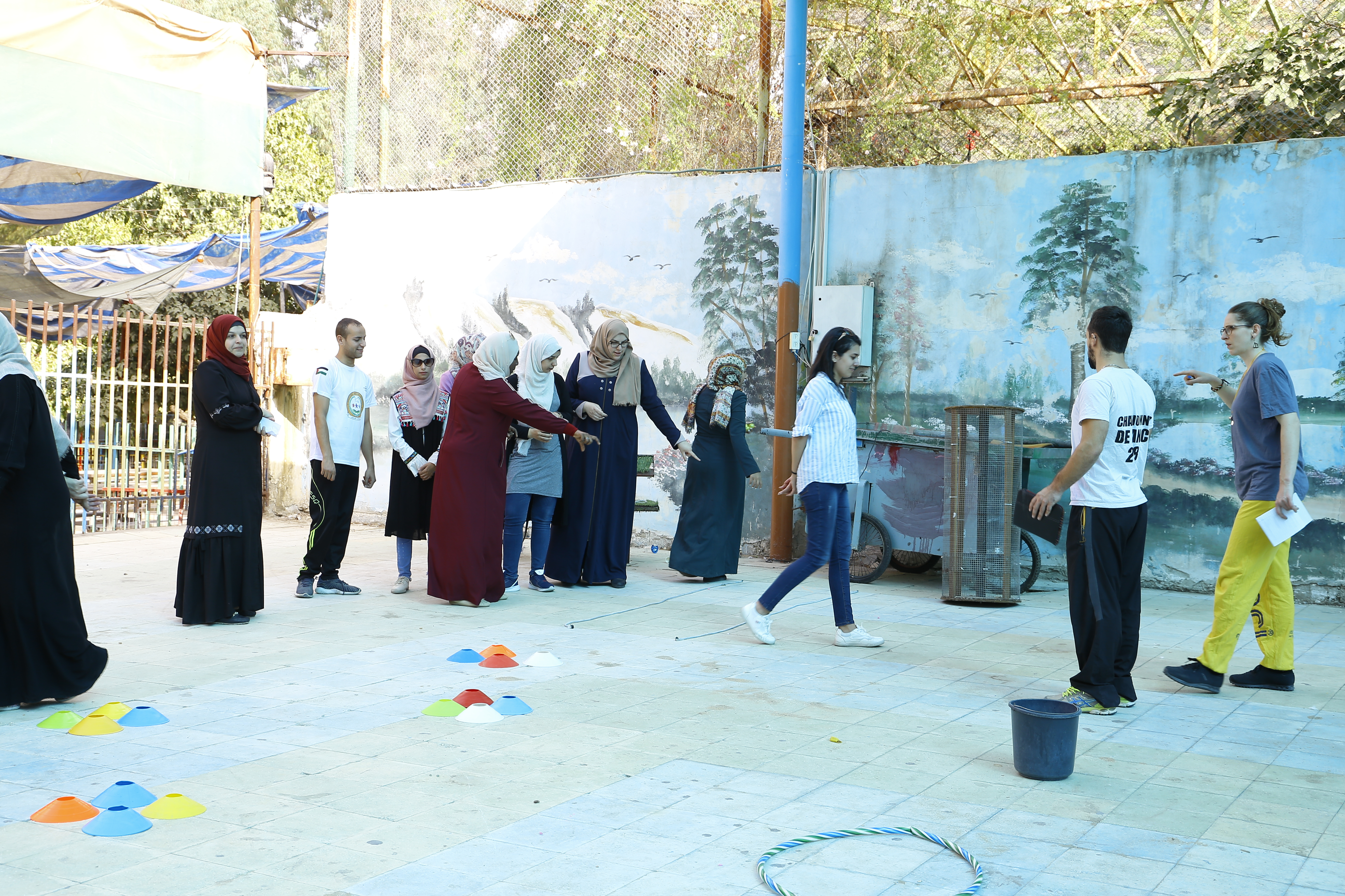 اختتام فعاليات الدورة التدريبية ضمن مشروع تطوير الرياضة للجميع