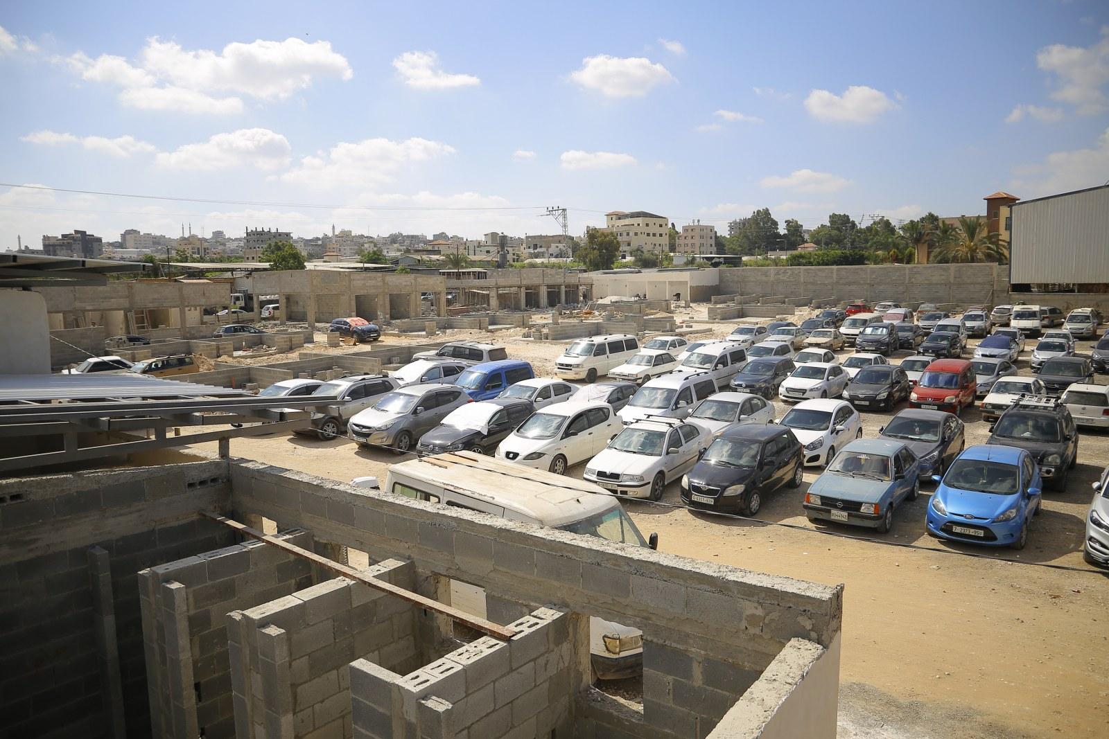 بلدية قلقيلية تواصل اعمالها في استراحة العودة