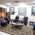 رئيس البلدية يستقبل مدير الضابطة الجمركية في محافظة قلقيلية