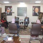 رئيس بلدية قلقيلية يعقد اجتماعا للجنة المساندة النسوية المجتمعية