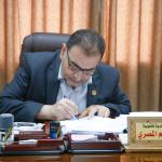 : توقيع اتفاقية تأهيل شبكة الصرف الصحي في مدينة قلقيلية.