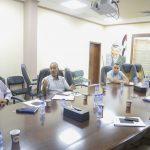 اجتماع لجنة ادارة النفايات الطبية في محافظة قلقيلية