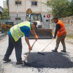 """بلدية قلقيلية – اعمال تعبيد مقاطع وحفر في مناطق متعددة من المدينة  """"نعمل لتقديم افضل الخدمات """""""