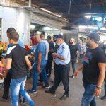 بلدية قلقيلية تستأنف حملة ازالة التعديات بدعم شعبي