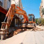 مشروع تأهيل شبكة الصرف الصحي في مدينة قلقيلية