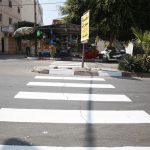 تخطيط ممرات مشاة من أمام مدارس المدينة