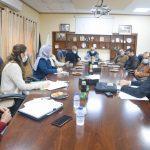 اجتماع لتقييم المشاريع ضمن برنامج وحدة التنمية الاقتصادية المحلية