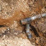 تأهيل شبكة المياه ضمن اعمال مشروع تأهيل طرق داخلية