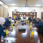 بلدية قلقيلية تعقد لقاء بؤريا معممثلي سكان شارع الكنتري
