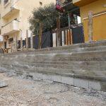 قسم الاشغال – بناء جدار استنادي – منطقة صوفين الوسطى