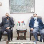 رئيس البلدية يستقبل وفدا من لجنة الانتخابات المركزية في محافظة