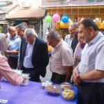 رئيس بلدية قلقيلية يشارك في افتتاح سوق قلقيلية الشعبي