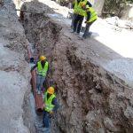 انطلاق مشروع تأهيل شبكة الصرف الصحي في قلقيلية في منطقة المرج