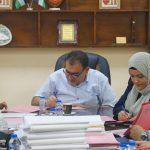 جلسة التنظيم والابنية