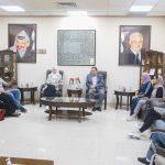 رئيس بلدية قلقيلية يستقبل وفدا من جمعية قلقيلية النسائية