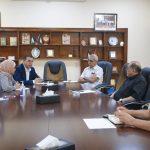 رئيس بلدية قلقيلية يستقبل مكتب استشاري لتحضير نظام الشراكة مع القطاع الخاص