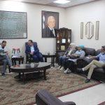 وفد من المركز الفلسطيني للسلام والديمقراطية يزور بلدية قلقيلية