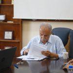 مواصلة اعمال مشروع تأهيل وتعبيد طرق داخلية في مدينة قلقيلية
